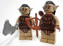LEGO Hunter Orc The Hobbit Minifigure