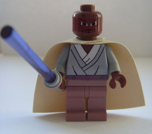 Mace Windu Custom Minifigure