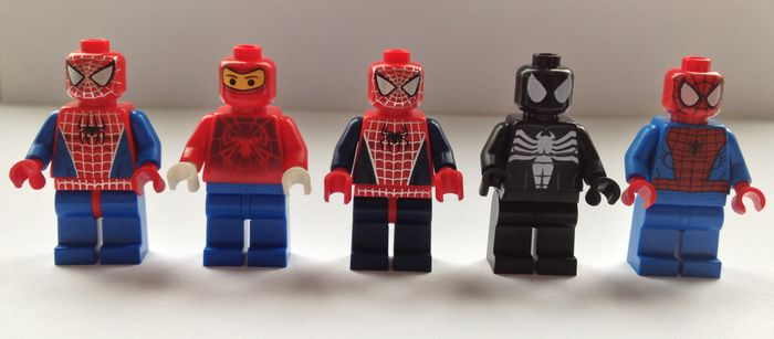 LEGO Spider Man Minifigures | Minifigures.co.uk