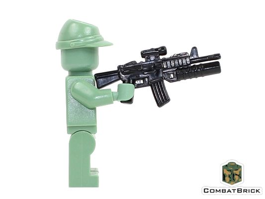CombatBrick M4A1 Carbine With M203 Grenade Launcher