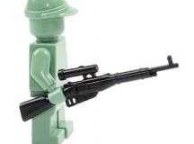 CombatBrick WWII Russian Mosin Nagant Sniper Rifle
