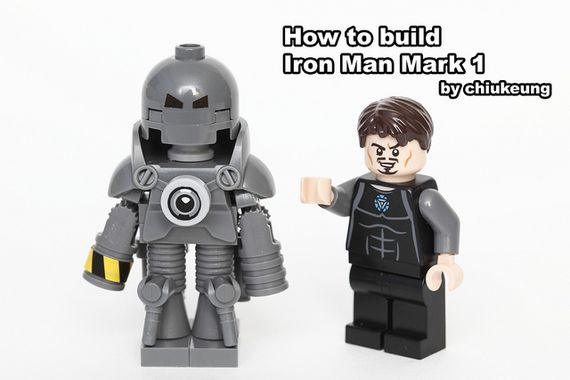 how to build a lego man