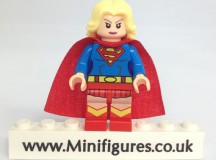 Supergirl Green Pea Toys Custom Minifigure