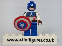 Captain America Christo Custom Minifigure
