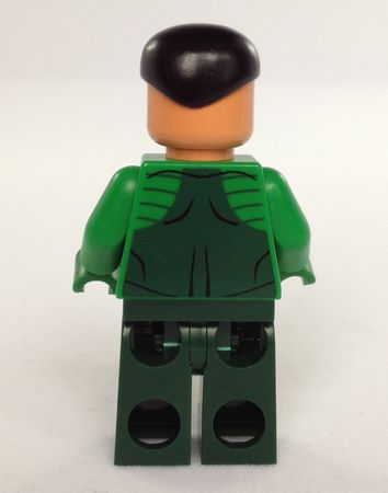 Sinestro Christo Custom Minifigure Back