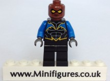 Black Lightning Christo Custom Minifigure