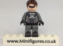 Black Lantern Green Pea Custom Minifigure