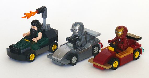 marvel lego races
