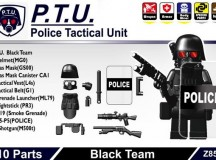 Minifig.Cat Police Tactical Unit