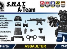 Minifig.Cat S.W.A.T. A-Team Assualter