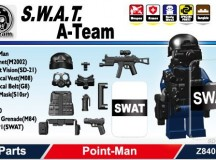 Minifig.Cat S.W.A.T. A-Team Point-Man