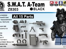 Minifig.Cat S.W.A.T. A-Team