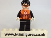 Orange Lantern Green Pea Custom Minifigure