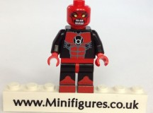 Red Lantern Atrocitus Green Pea Toys Custom Minifigure
