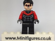 Red Nightwing Green Pea Custom Minifigure