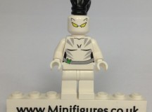 White Tiger Green Pea Toys Custom Minifigure