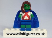 Martian Girl eclipseGrafx Custom Minifigure