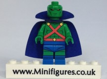 Mr Martian Classic Green eclipseGrafx Custom Minifigure