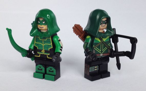 Green Arrow Custom Minifigures Video Review