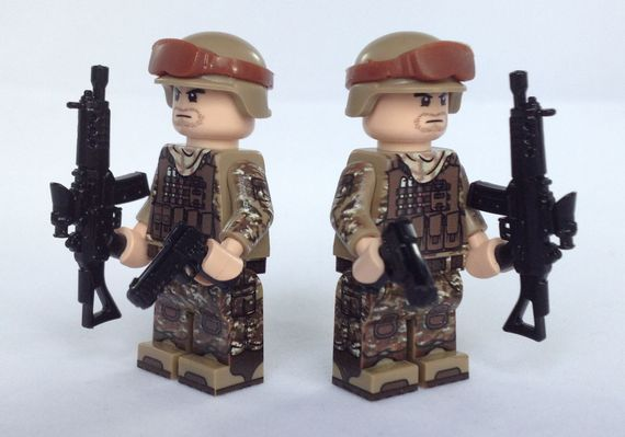 eclipseGrafx Military Assualt Class Troopers Tan