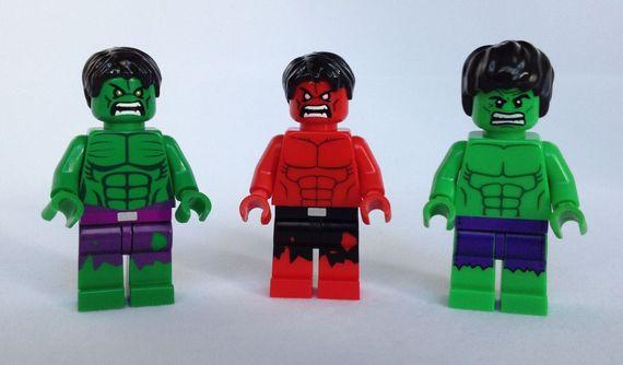 LEGO Hulk Minifigure Comparison Video Review