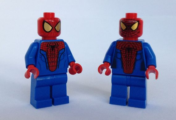 Spider-Man Minifigure Comparison Video Review