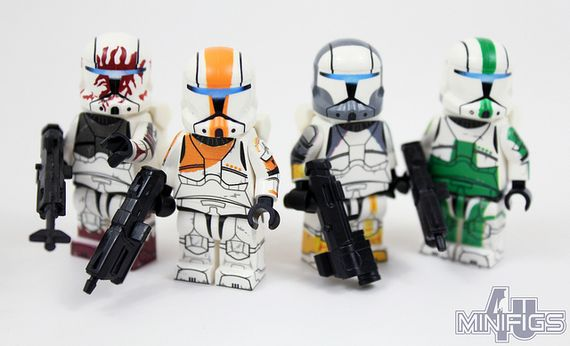 March 2014 Custom Minifigures