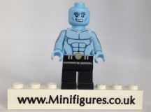 Ice Man Brick Moc Custom Minifigure