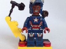 LEGO Marvel Super Heroes Iron Patriot Minifigure Polybag Review