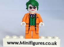 Orange Joker Christo Custom Minifigure