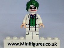White Joker Christo Custom Minifigure