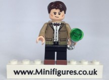The Doctor Brick Moc Custom Minifigure
