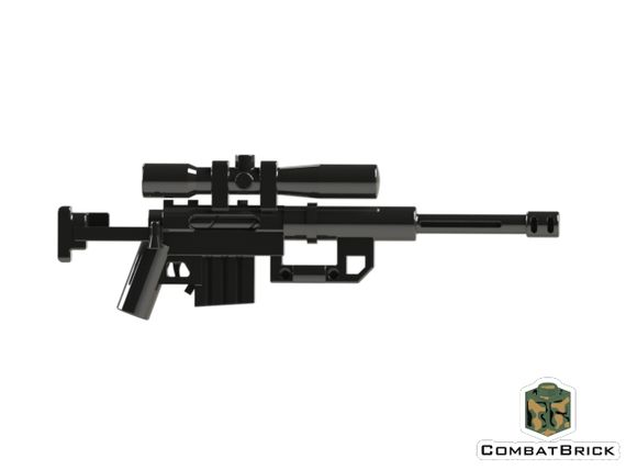 CombatBrick Interceptor Long Range Sniper Rifle System
