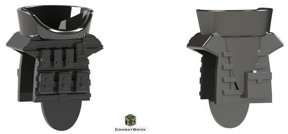 CombatBrick Juggernaut Body Armor Black