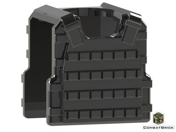 CombatBrick Plate Carrier Body Armor Black