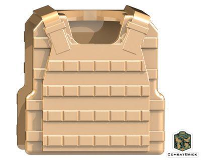 CombatBrick Plate Carrier Body Armor Dark Tan