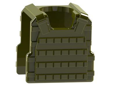 CombatBrick Plate Carrier Body Armor Military Green