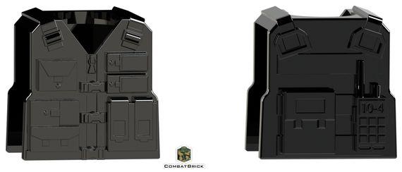 CombatBrick Tactical Vest Black