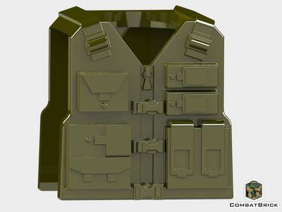 CombatBrick Tactical Vest Military Green