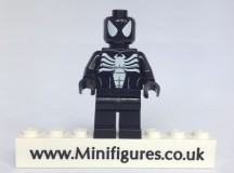 Black Spiderman Custom Minifigure