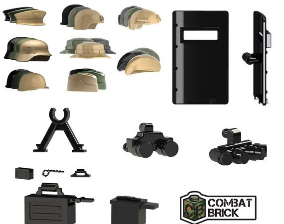 CombatBrick Helmets and Accessories