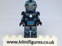 Blue Grid Iron EclipseGrafx Custom Minifigure