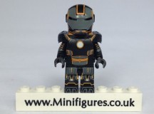 Orange Grid Iron EclipseGrafx Custom Minifigure
