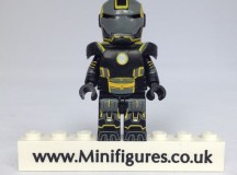 Yellow Grid Iron EclipseGrafx Custom Minifigure