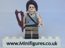 Lara Croft BrickUltra Custom Minifigure