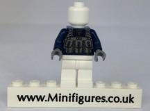 Brick Moc Dark Blue Sniper Torso