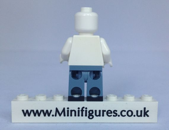 The Minifig Co Ripped Blue Jean Legs