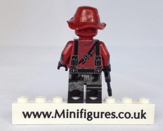 Wolverine Sniper Brick Moc Custom Minifigure