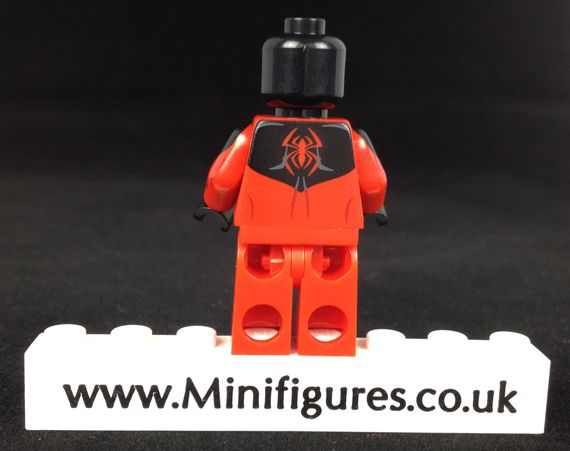Crimson Arachnid Phoenix Customs Custom Minifigure Back