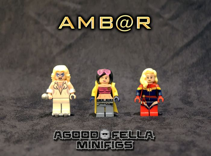 AMBAR Custom Minifigures